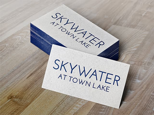 Skywater at Town Lake