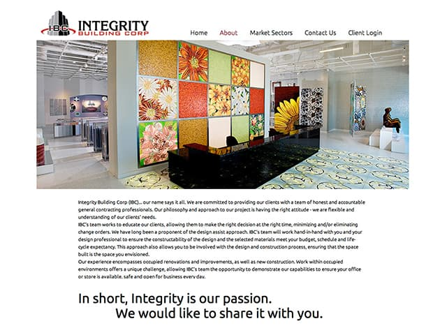Integrity Building Corp