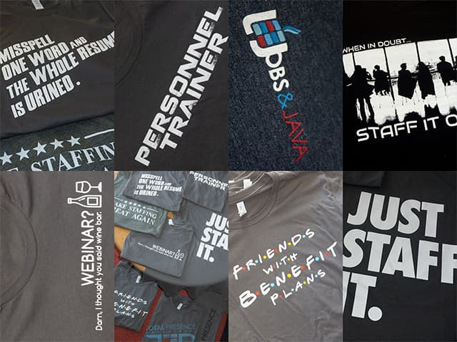 T-Shirt Designs for Total Presence Management